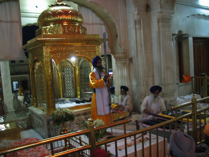 At the Akāl Takhat