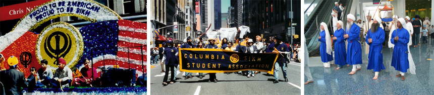 The Visakhi Parade (1999); New York; Los Angeles